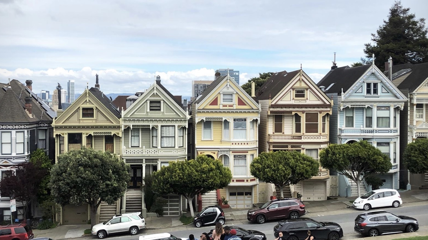 Alamo Square - Painted Ladies