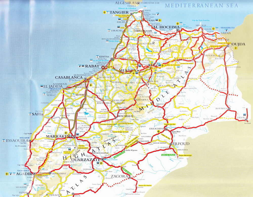 Rabat Gezi Rehberi El Magrİbu L Aksa Fas Gezimanya
